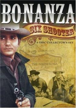 Bonanza - Six Shooter DVD Cover Art