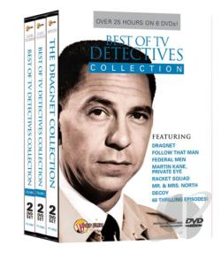 Best Of TV Detectives Collection DVD Cover Art