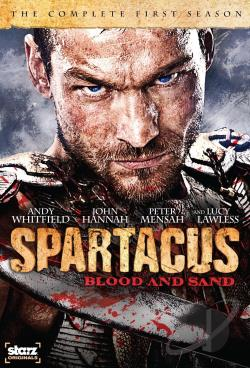 Spartacus - Blood and Sand - The Complete First Season DVD Cover Art