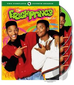 Fresh Prince of Bel-Air - The Complete Fourth Season DVD Cover Art