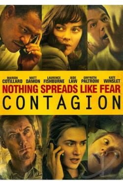 Contagion DVD Cover Art