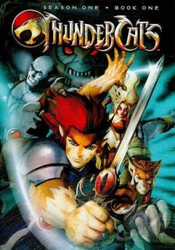 Thundercats Dvds on Thundercats   First Season  Book One Dvd Cover Art