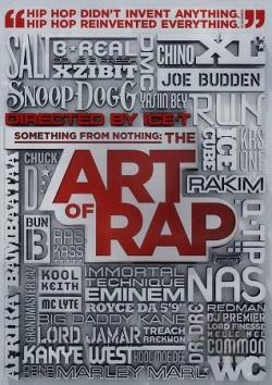 Something From Nothing: The Art of Rap DVD Cover Art
