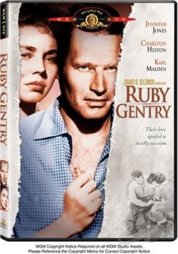 Ruby Gentry DVD Cover Art