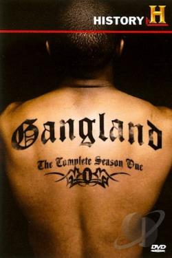 Gangland - Complete Season 1 DVD Cover Art