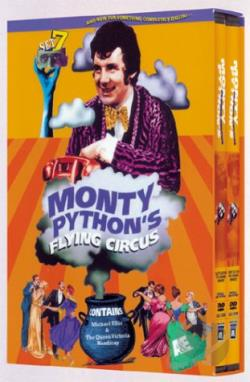 Monty Python's Flying Circus - Set 7: Season 4 DVD Cover Art