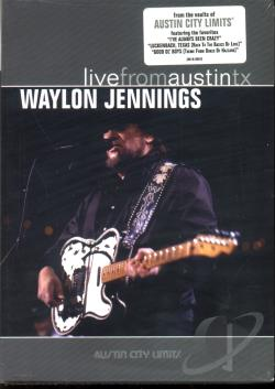 Waylon Jennings - Live from Austin, Texas DVD Cover Art