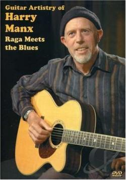 Guitar Artistry of Harry Manx - Raga Meets the Blues DVD Cover Art