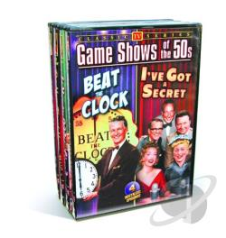 TV Game Shows Of The 50's DVD Cover Art