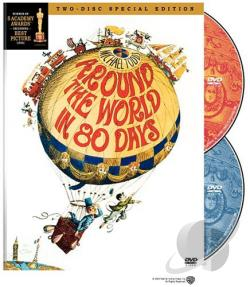 Around the World in 80 Days DVD Cover Art