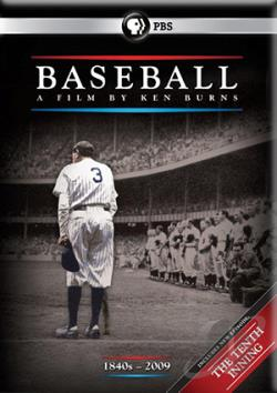 Baseball: A Film by Ken Burns DVD Cover Art