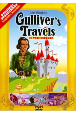 Gulliver's Travels DVD Cover Art