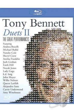Tony Bennett: Duets II - The Great Performances BRAY Cover Art