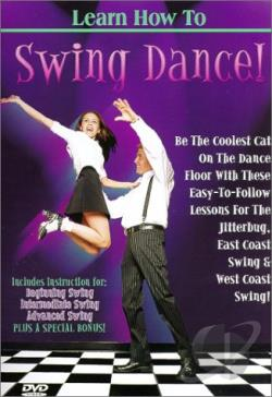 Learn How To Swing Dance DVD Cover Art