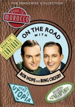 On the Road with Bob Hope and Bing Crosby DVD Cover Art