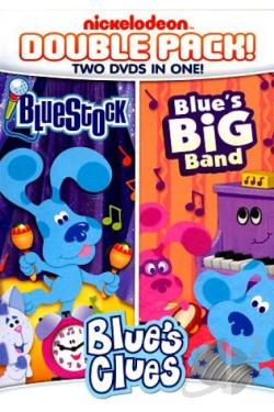 Blue's Clues: Blue's Big Band/Bluestock DVD Cover Art