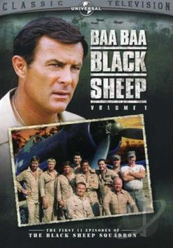 Baa Baa Black Sheep: Volume 1 DVD Cover Art