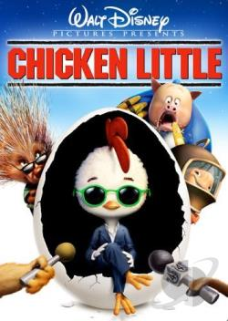Chicken Little DVD Cover Art