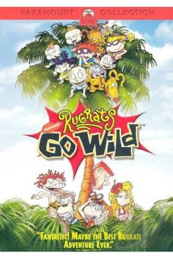 Rugrats Go Wild DVD Cover Art