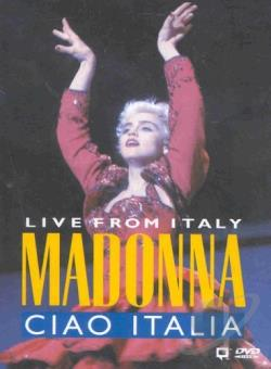 Madonna - Ciao Italia: Live From Italy DVD Cover Art
