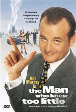 Man Who Knew Too Little DVD Cover Art