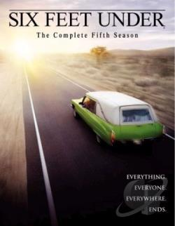 Six Feet Under - The Complete Fifth Season DVD Cover Art