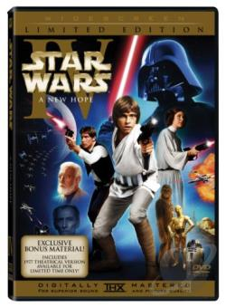 Star Wars Episode IV: A New Hope DVD Cover Art