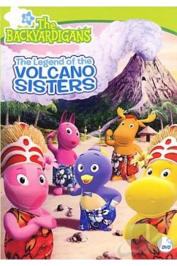 Backyardigans - The Legend of the Volcano Sisters DVD Cover Art