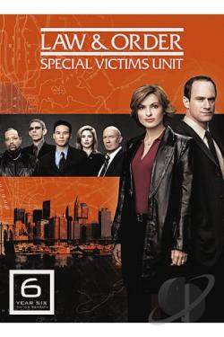 Law & Order: Special Victims Unit - The Sixth Year DVD Cover Art