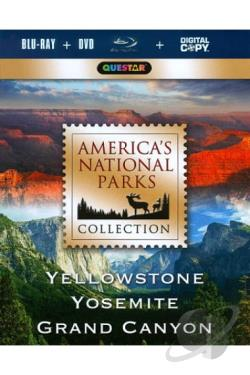 National Parks: Yellowstone, the Grand Canyon, and Yosemite - 3 Films BRAY Cover Art