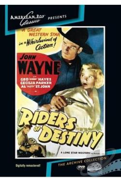 Riders of Destiny DVD Cover Art