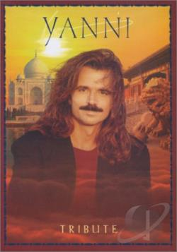 Yanni - Tribute DVD Cover Art
