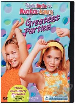 You're Invited To Mary-Kate & Ashley's Greatest Parties DVD Cover Art
