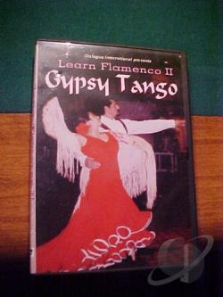 Learn Flamenco II - Gypsy Tango DVD Cover Art