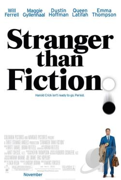 Stranger Than Fiction DVD Cover Art