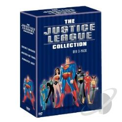 Justice League: Star Crossed/Paradise Lost/Secret Origins DVD Cover Art