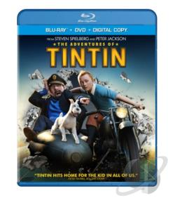 Adventures of Tintin BRAY Cover Art