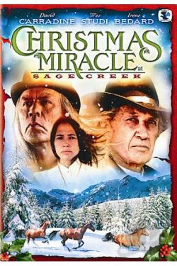 Christmas Miracle at Sage Creek DVD Cover Art
