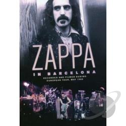 Frank Zappa: In Barcelona 1988 DVD Cover Art