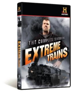 History Channel Presents: Extreme Trains DVD Cover Art