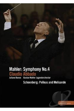 Mahler - Symphony No. 4 DVD Cover Art