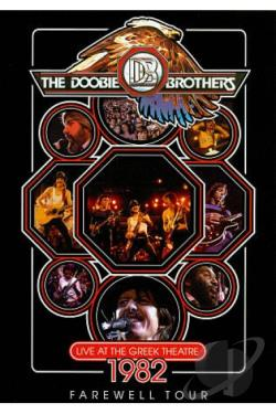Doobie Brothers: Live at the Greek Theatre DVD Cover Art