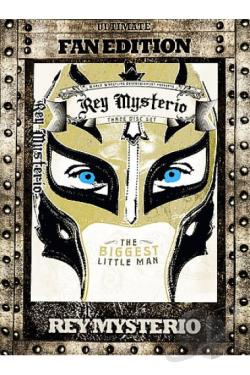 WWE - Rey Mysterio: The Biggest Little Man DVD Cover Art
