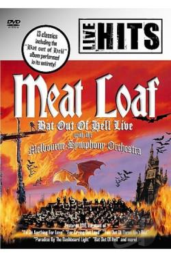 Meat Loaf - Live with the Melbourne Symphony Orchestra DVD Cover Art