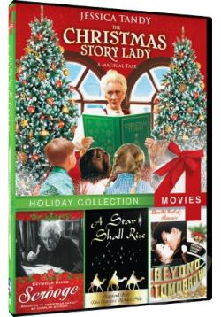 Christmas Story Lady/Scrooge/A Star Shall Rise/Beyond Tomorrow DVD Cover Art