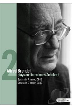 Alfred Brendel Plays and Introduces Schubert: Piano Works - Vol. 2 DVD Cover Art