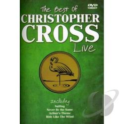 Christopher Cross: The Best of Cross Christopher Live DVD Cover Art