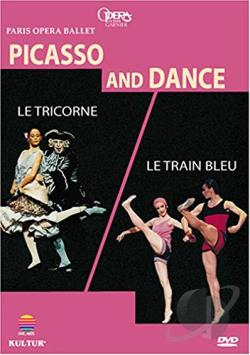 Picasso and Dance - Le Train Bleu/Le Tricorne DVD Cover Art