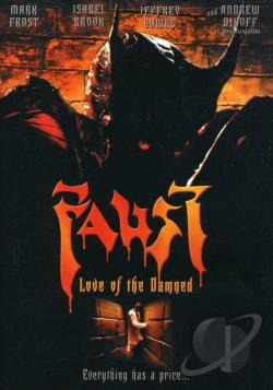 Faust - Love of the Damned DVD Cover Art