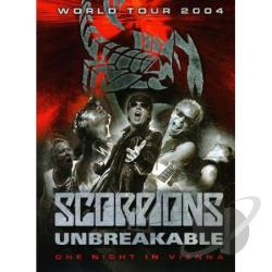 Scorpions - Unbreakable World Tour 2004 DVD Cover Art